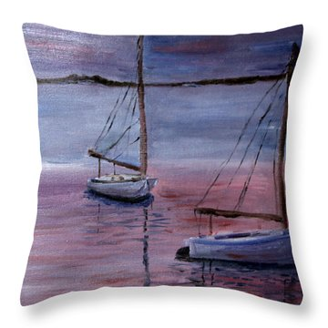 Sunset At Pleasant Bay Throw Pillow
