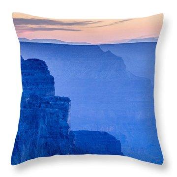 Sunset At The South Rim Throw Pillow