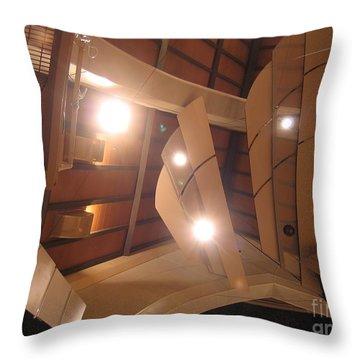 Sunset Center Ceiling Throw Pillow