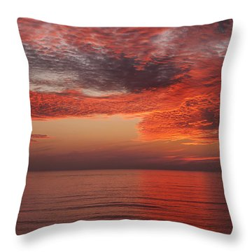 Sunset Cliffs Sunset 1 Throw Pillow