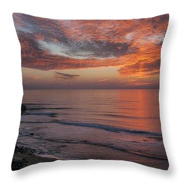 Sunset Cliffs Sunset 2 Throw Pillow