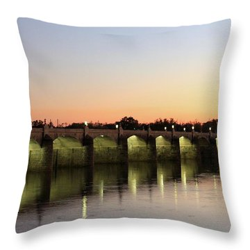 Sunset Hues Throw Pillow