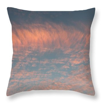 Throw Pillow featuring the photograph Sunset In Gainesville by Lorna Maza