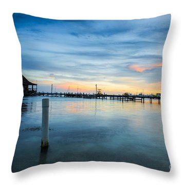 Sunset In San Pedro Throw Pillow
