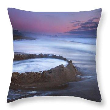 Sunset Maelstrom Throw Pillow