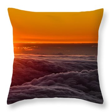 Sunset On Cloud City 1 Throw Pillow