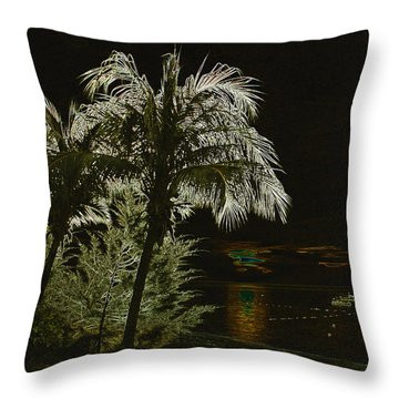 Sunset On Tioman Island Throw Pillow by Sergey Lukashin