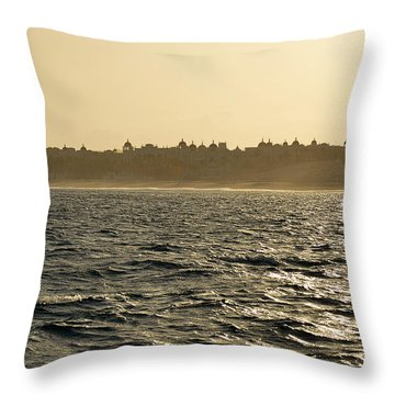 Throw Pillow featuring the photograph Sunset Sailing In Cabo by Christine Till