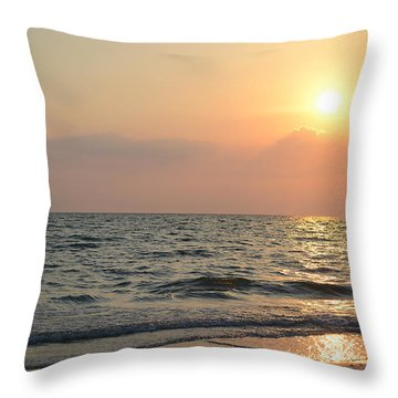 Throw Pillow featuring the photograph Sunset Sky by Melanie Moraga