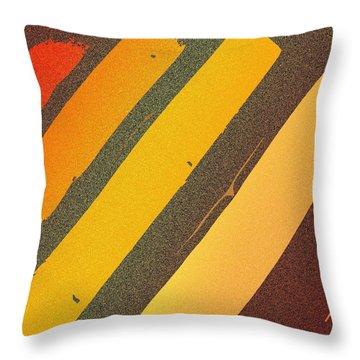 Sunset Strips Throw Pillow