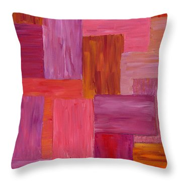 Sunset Windows Throw Pillow
