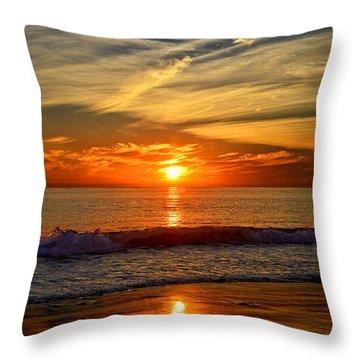Sunset's Glow  Throw Pillow