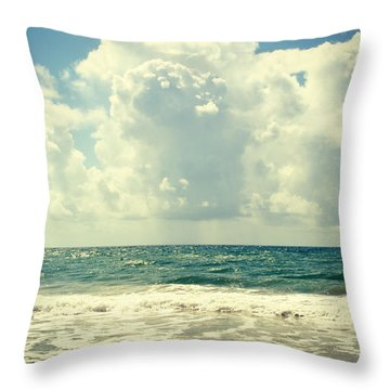 Sunshine And Rain Throw Pillow