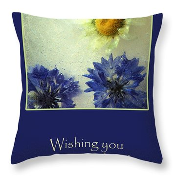 Throw Pillow featuring the photograph Sunshine And Smiles by Randi Grace Nilsberg