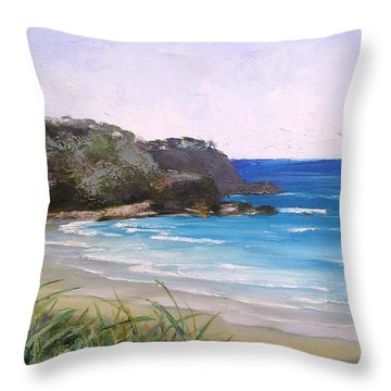 Sunshine Beach Qld Australia Throw Pillow