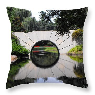 Sunshine Bridge Throw Pillow