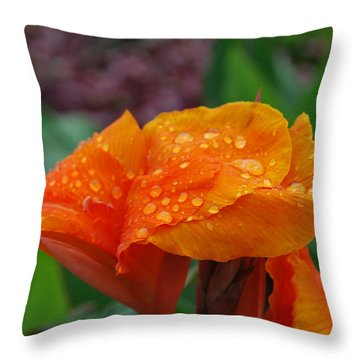 Throw Pillow featuring the photograph Sunshine From Within by Miguel Winterpacht