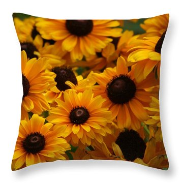 Sunshine On A Stem Throw Pillow