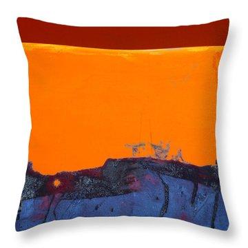 Sunstorm No. 2 Throw Pillow