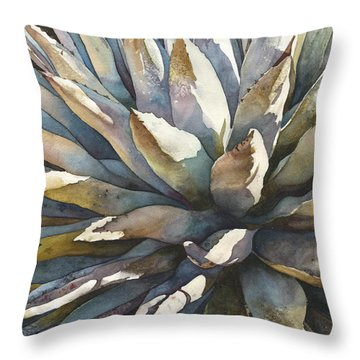 Sunstruck Yucca Throw Pillow