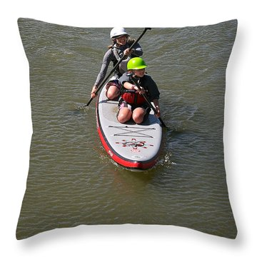 Sup Team Throw Pillow