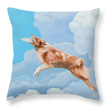 Super Jude Throw Pillow