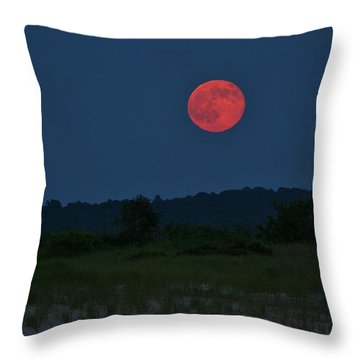 Super Moon July 2014 Throw Pillow