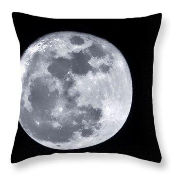 Super Moon Over Arizona  Throw Pillow