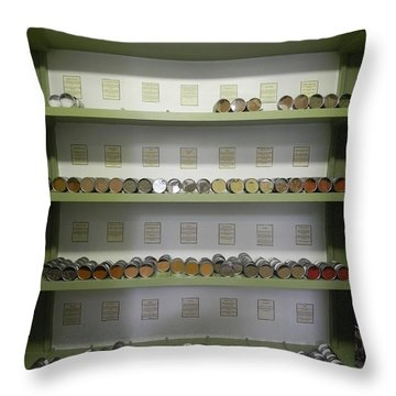 Throw Pillow featuring the photograph Super Spice It by Patricia Greer
