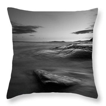 Superior Crescent    Throw Pillow