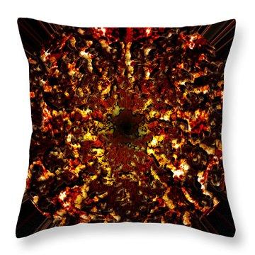 Supernova Throw Pillow by Christopher Gaston