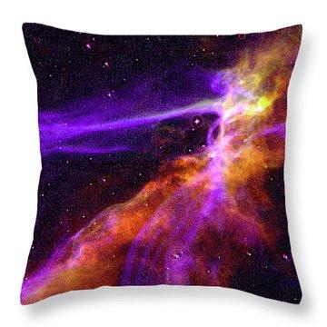 Supernova In Cygnus Throw Pillow