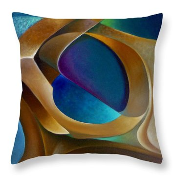 Support Throw Pillow by Claudia Goodell