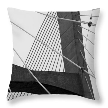 Support Throw Pillow by Jane Eleanor Nicholas