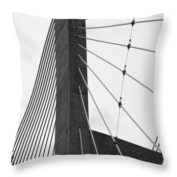 Supporting Role Throw Pillow by Jane Eleanor Nicholas