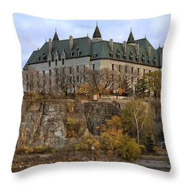Supreme Court Throw Pillow by Eunice Gibb