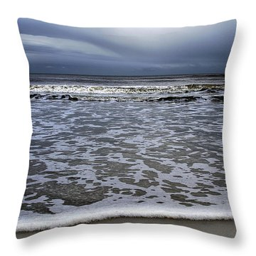 Surf And Beach Throw Pillow