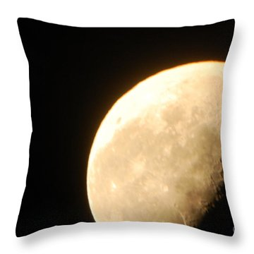 Surface Of The Moon Throw Pillow
