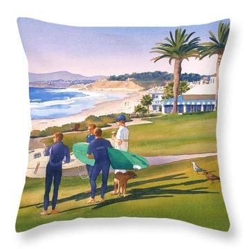 Del Mar Throw Pillows