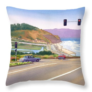 Pacific Throw Pillows