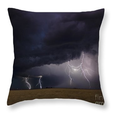 Surging North Throw Pillow