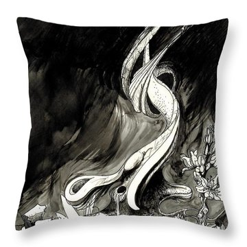 Surprise Throw Pillow by Julio Lopez