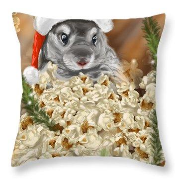 Surprise Throw Pillow by Veronica Minozzi