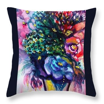 Surprising Summer Throw Pillow