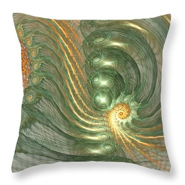 Surreal Field Throw Pillow