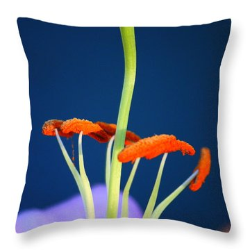 Surreal Inner Beauty Throw Pillow