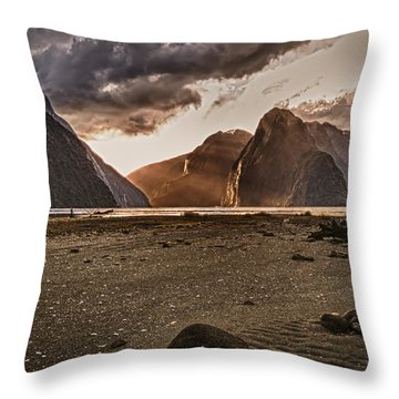 Surreal Milford Throw Pillow