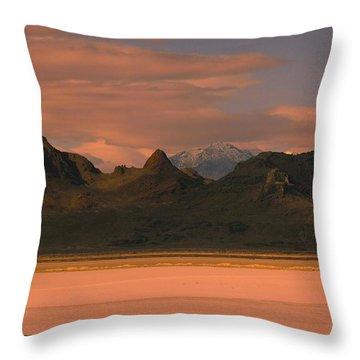 Surreal Mountains In Utah #4 Throw Pillow