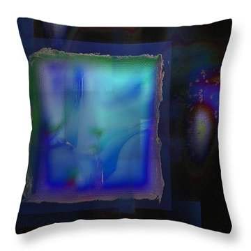 Surreal Sketch Throw Pillow