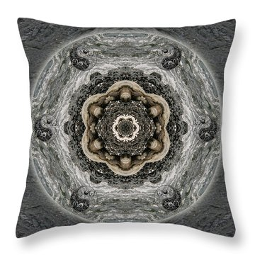 Surrender To The Journey Throw Pillow
